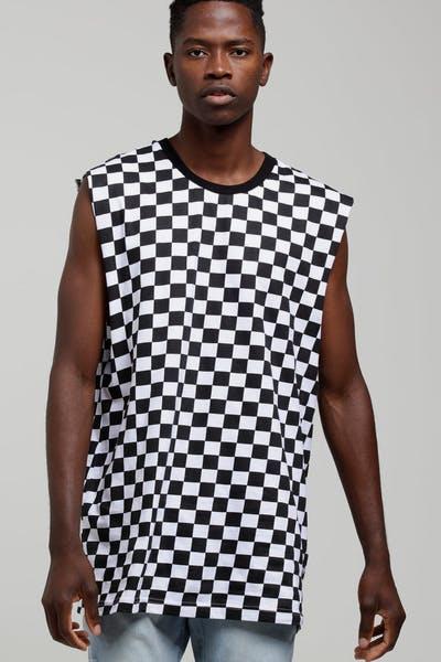 New Slaves Checkerboard Muscle Black White 05ff147eda641