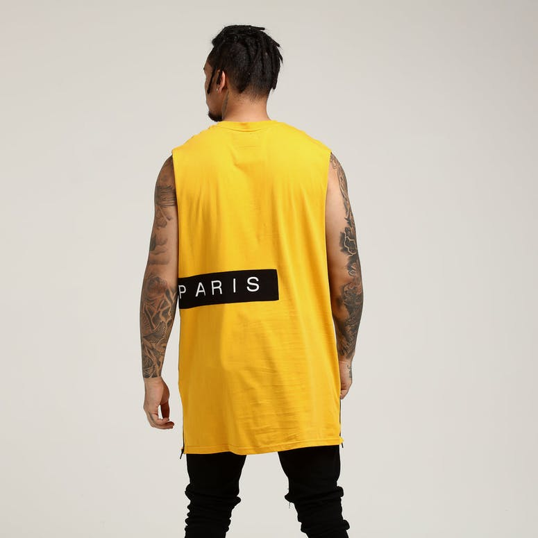 Carré Piece Muscle Yellow