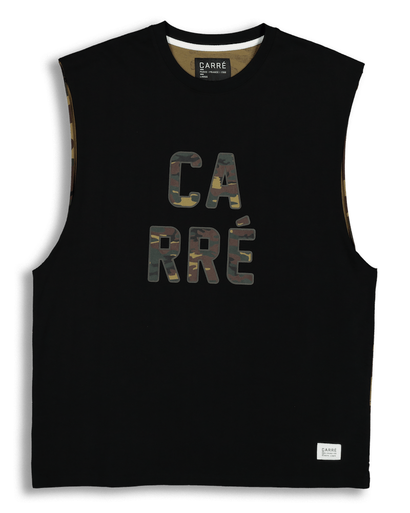 CARRÉ TROOP MUSCLE TEE BLACK