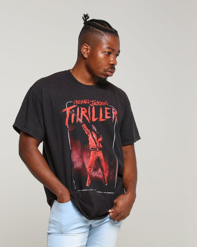 Michael Jackson Thriller Tee Black