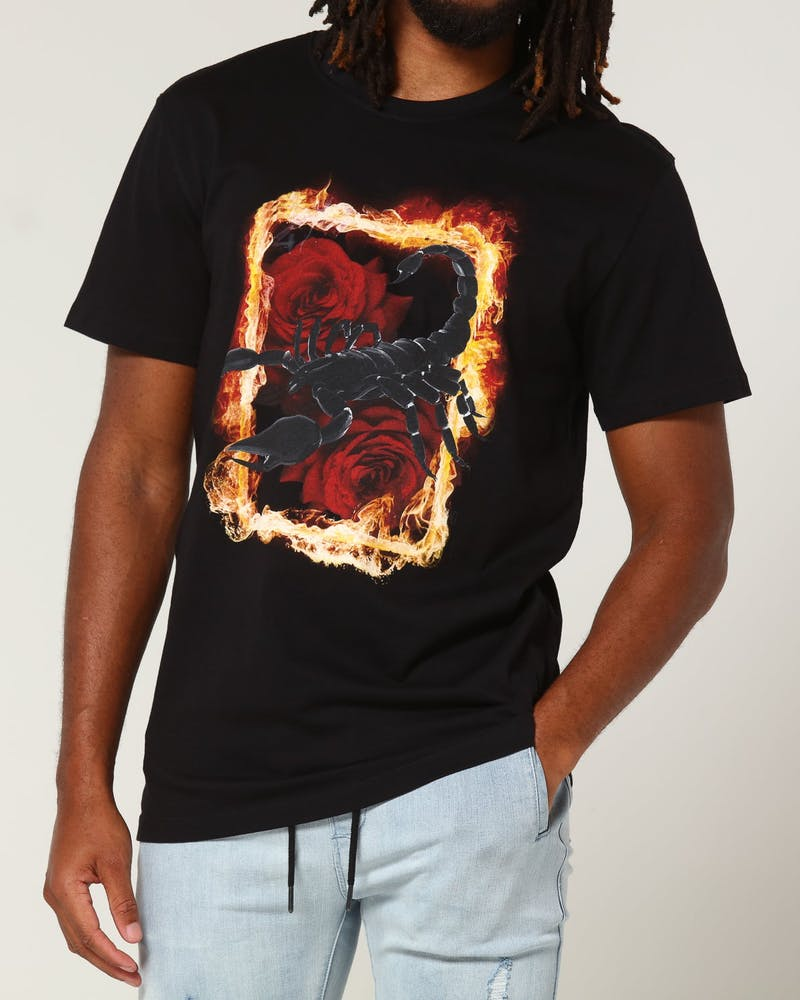 Goat Crew Scorpion Tee Black