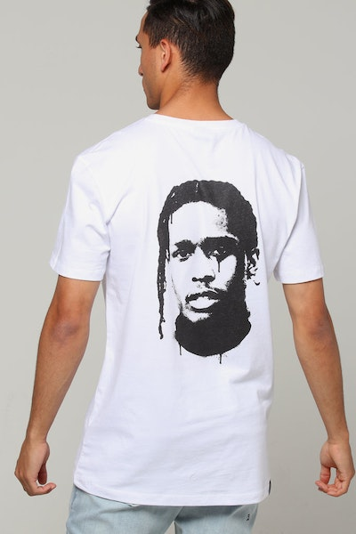 Goat Crew ASAP Rocky Spray Tee White