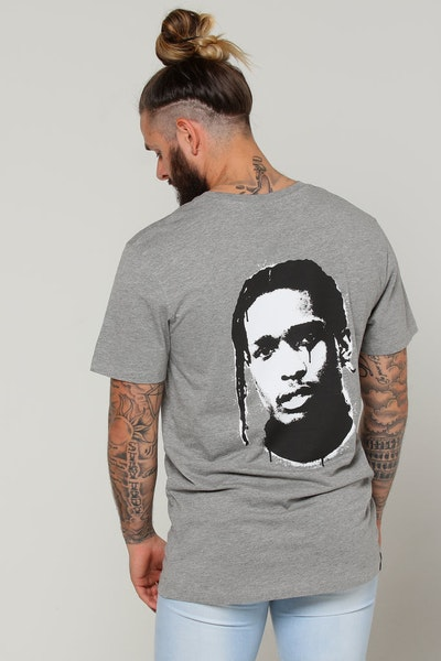 Goat Crew ASAP Rocky Spray Tee Grey