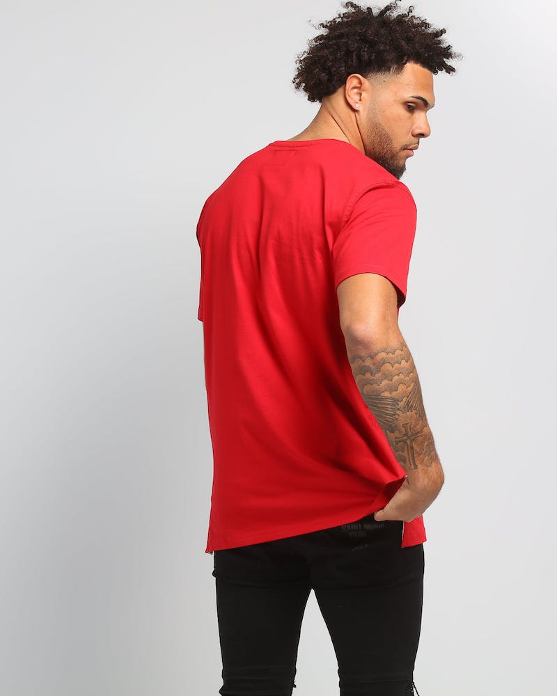 Carré Charmant Divise SS Tee Red