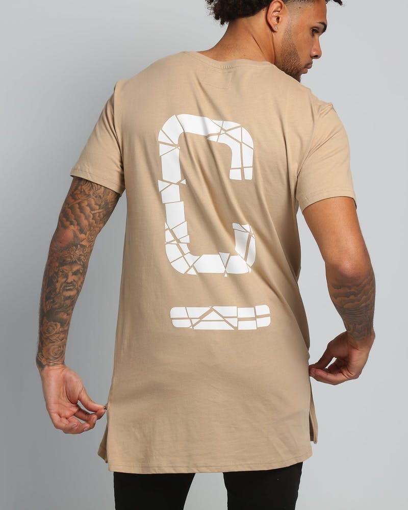 Carré Shatter Capone SS Tee Stone