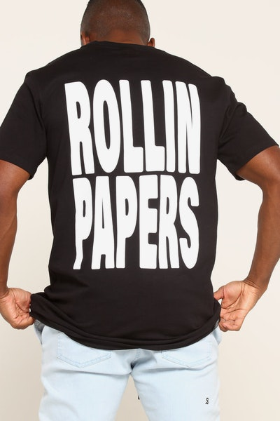 Goat Crew Rollin Papers Tee Black