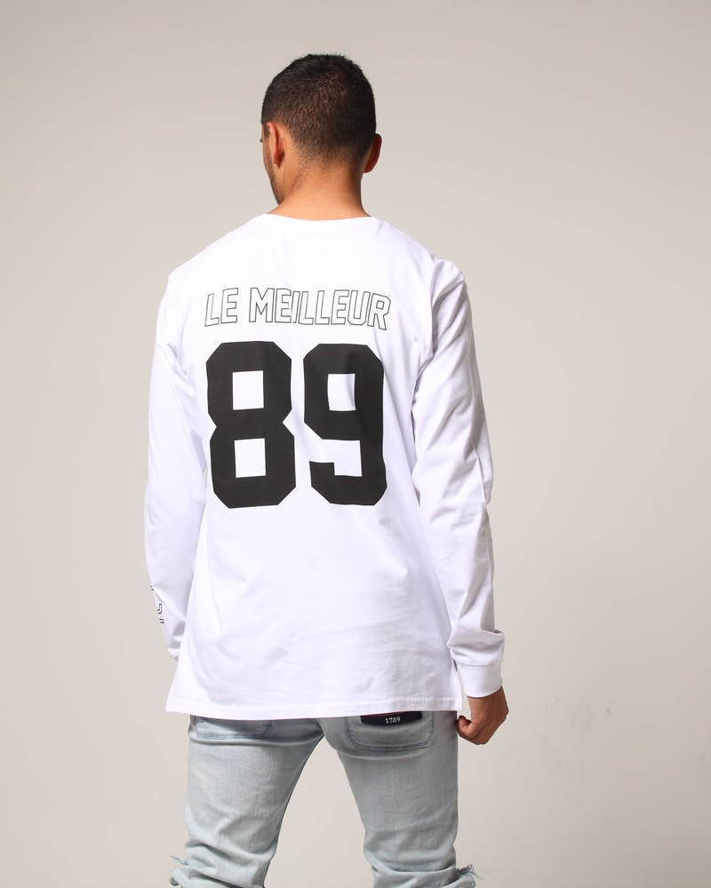 Carré The Best Divise LS Tee White