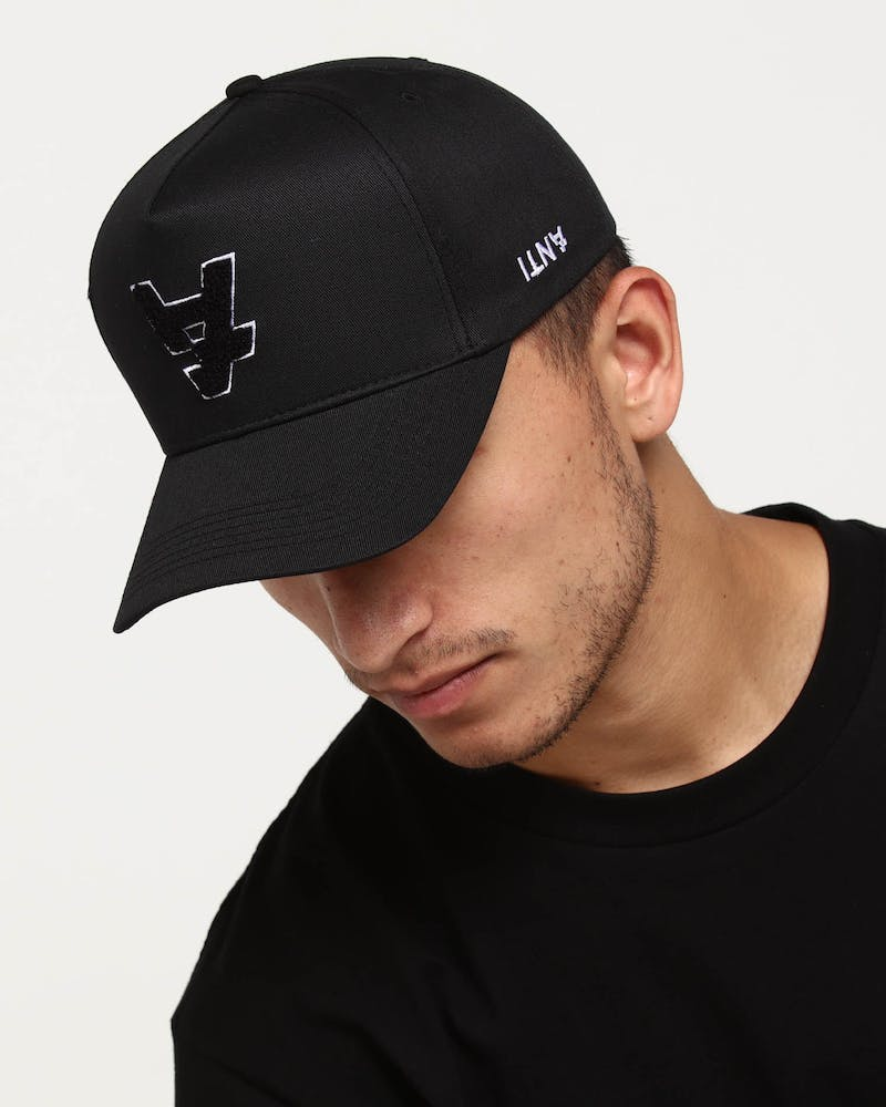 The Anti-Order A1 Applique Strapback Black/Black