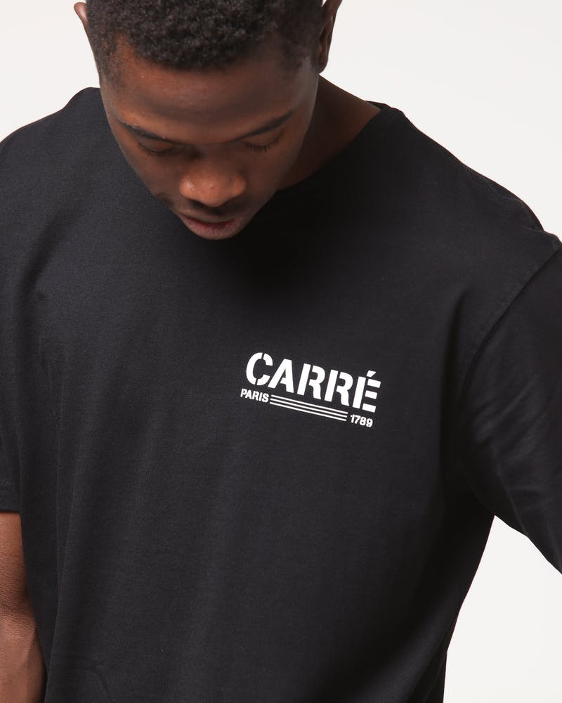 Carré Technical SS Divise Tee Black