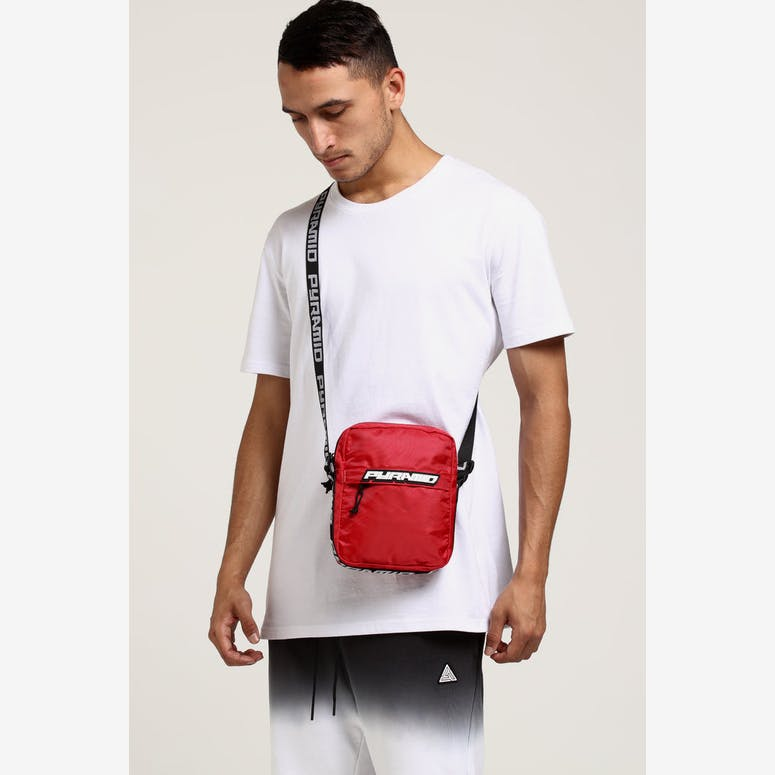 977107b865 Black Pyramid Shoulder Bag Red – Culture Kings NZ