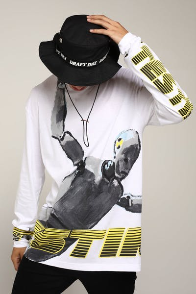 ASAP ROCKY APPAREL Kamil LS Tee White