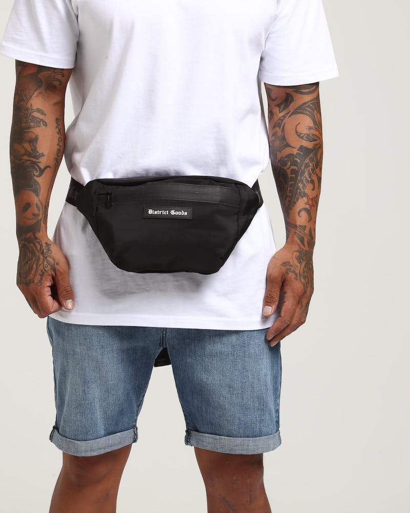 District Goods DG Bum Bag Black