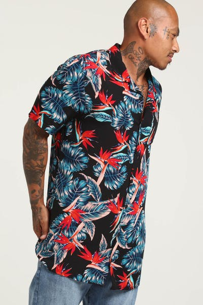 District Goods Tropical Party Shirt Tropical