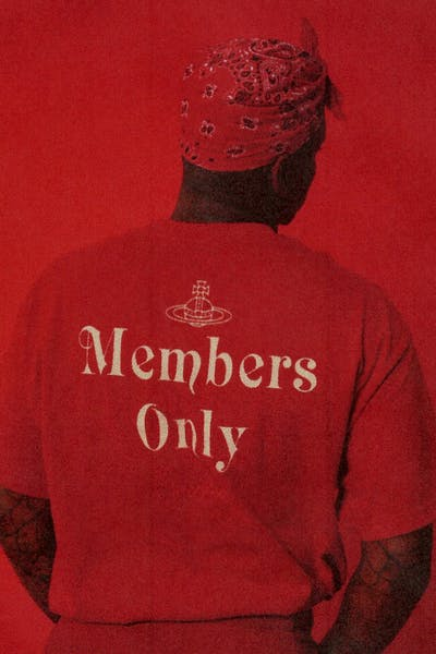 4HUNNID Westwood Members Only Tee Red