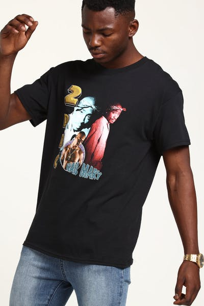 Tupac Hail Mary Vintage Tee Black