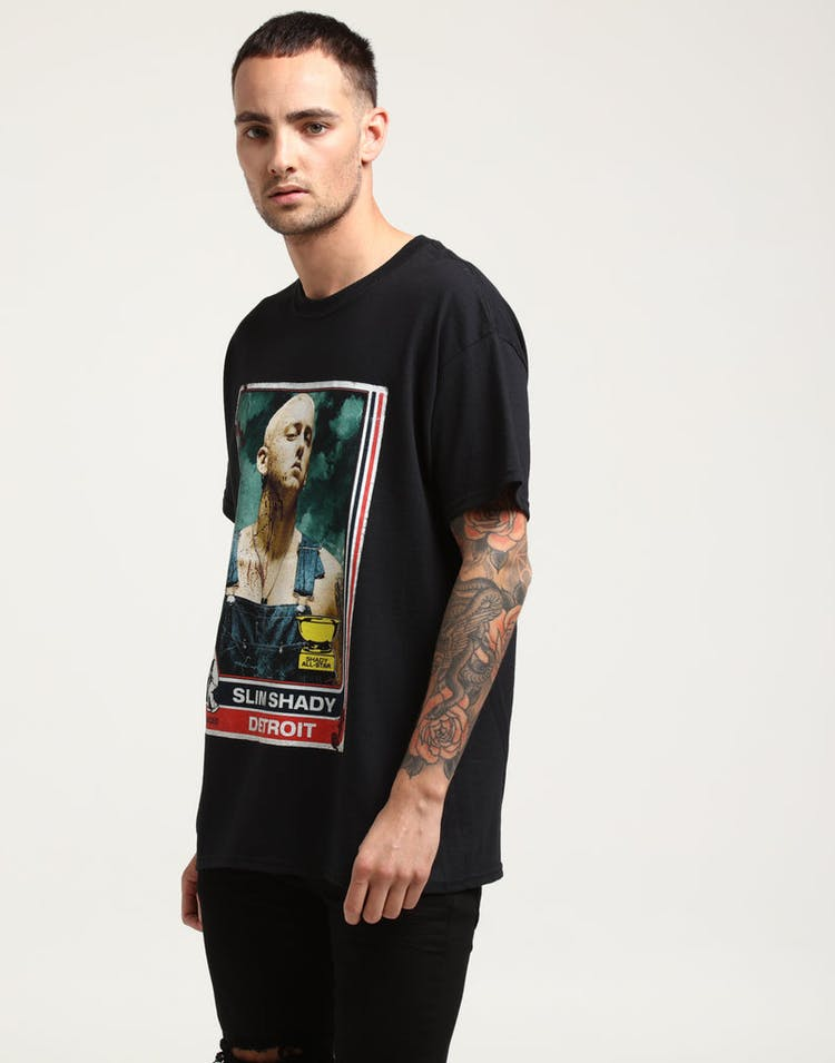 Eminem Bloody Baseball Tee Black
