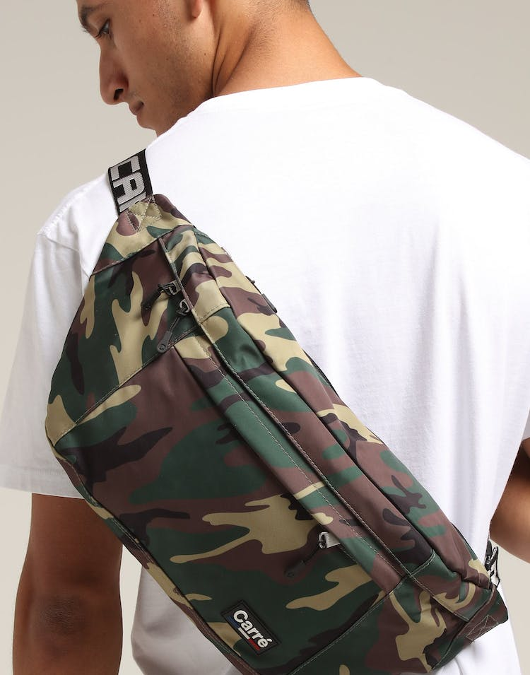 Carré Marked Sling Bag Camo