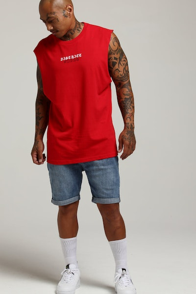 District Goods Vacation Muscle Red