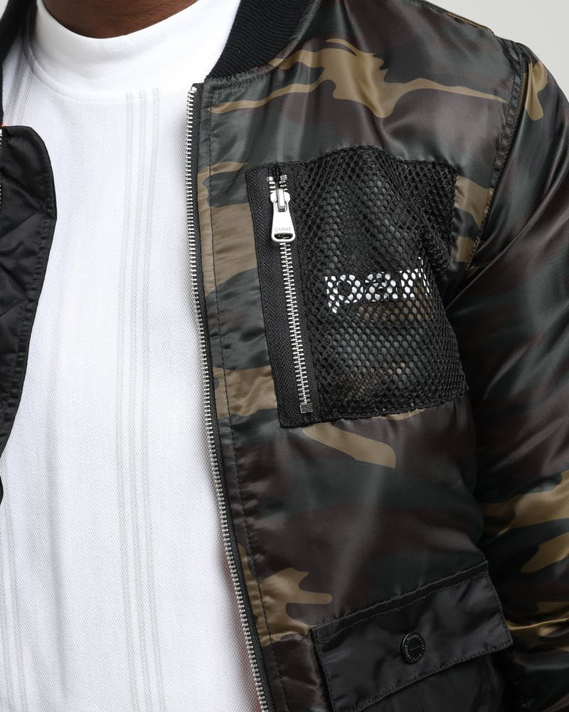 Carré Cadrer Bomber Jacket Black/Camo
