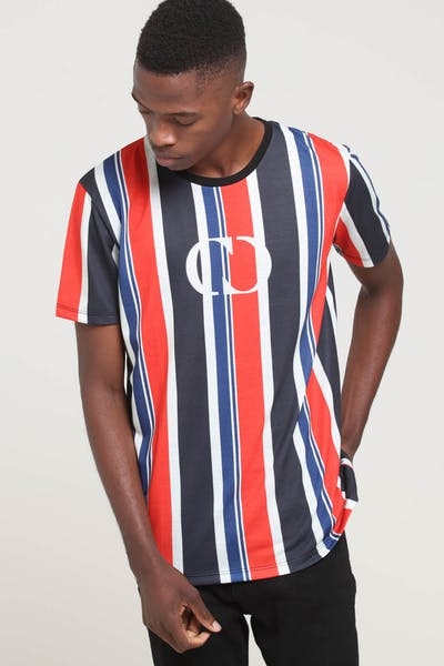 Criminal Damage Danny T-Shirt Tee Black/Multi-coloured