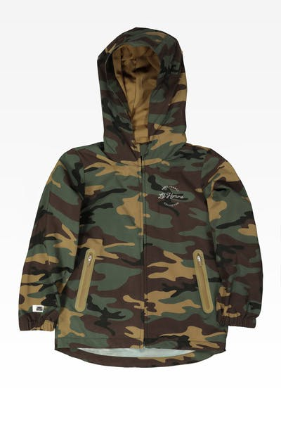 Lil Hommé Collective Windbreaker Camo