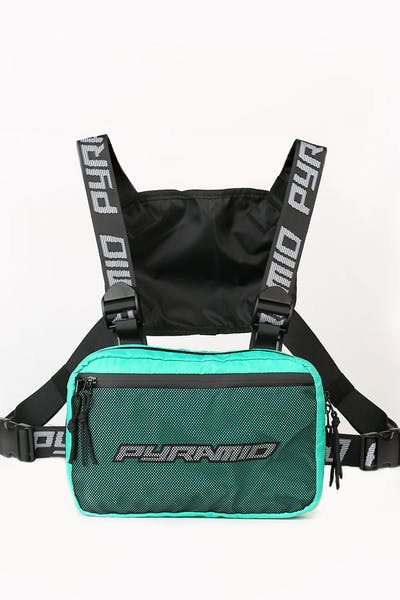 Black Pyramid Chest Rig Turquoise