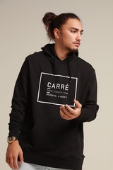 CARRÉ FOUNDATION HOOD BLACK