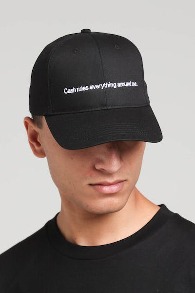 Goat Crew Cash Rules Strapback Black