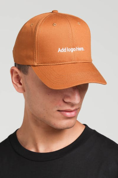 Goat Crew Add Logo Here Strapback Light Brown