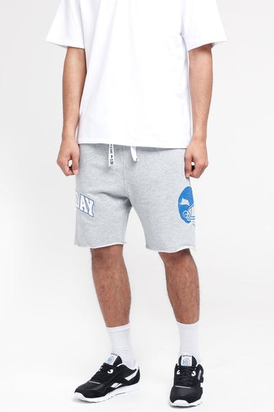 Draft Day Super Sweat Short Grey Marle