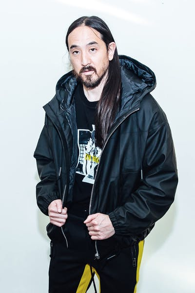 Dim Mak Rubberized Color Block Jacket Black/Black