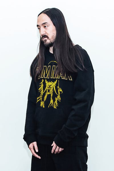 Dim Mak Demon Mask Pullover Black