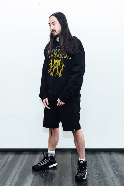 Dim Mak Sweat Shorts Black