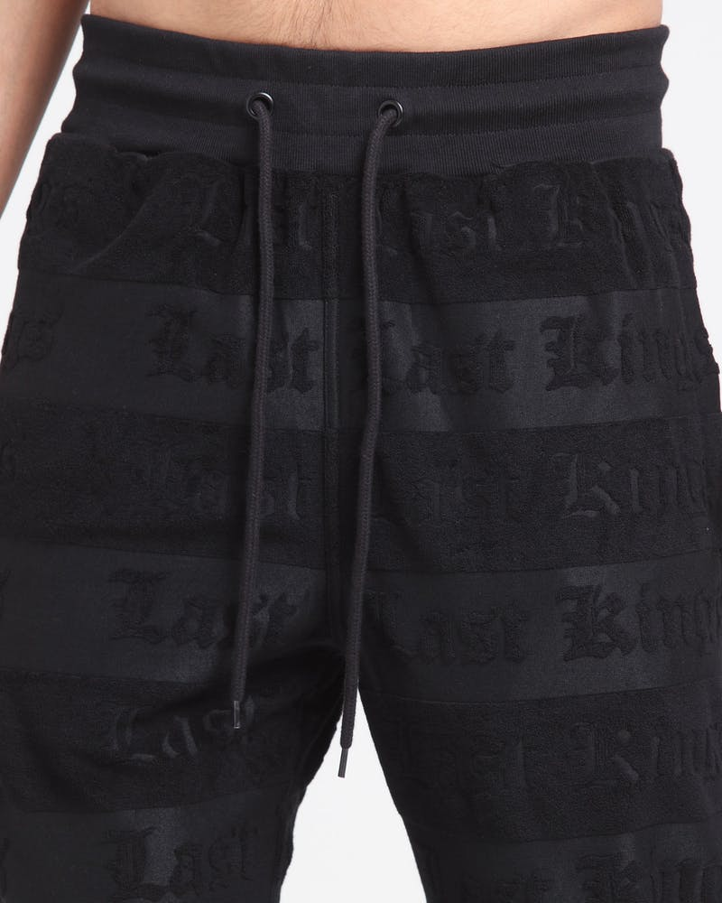 Last Kings Opulence Trackpants Black