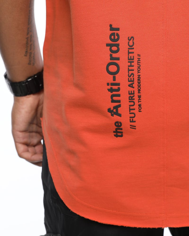 The Anti-Order XY-Aesthetic Tee Rust/Black