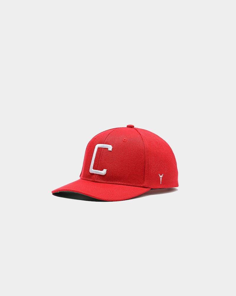 Carré Capital C Grand Snapback Red