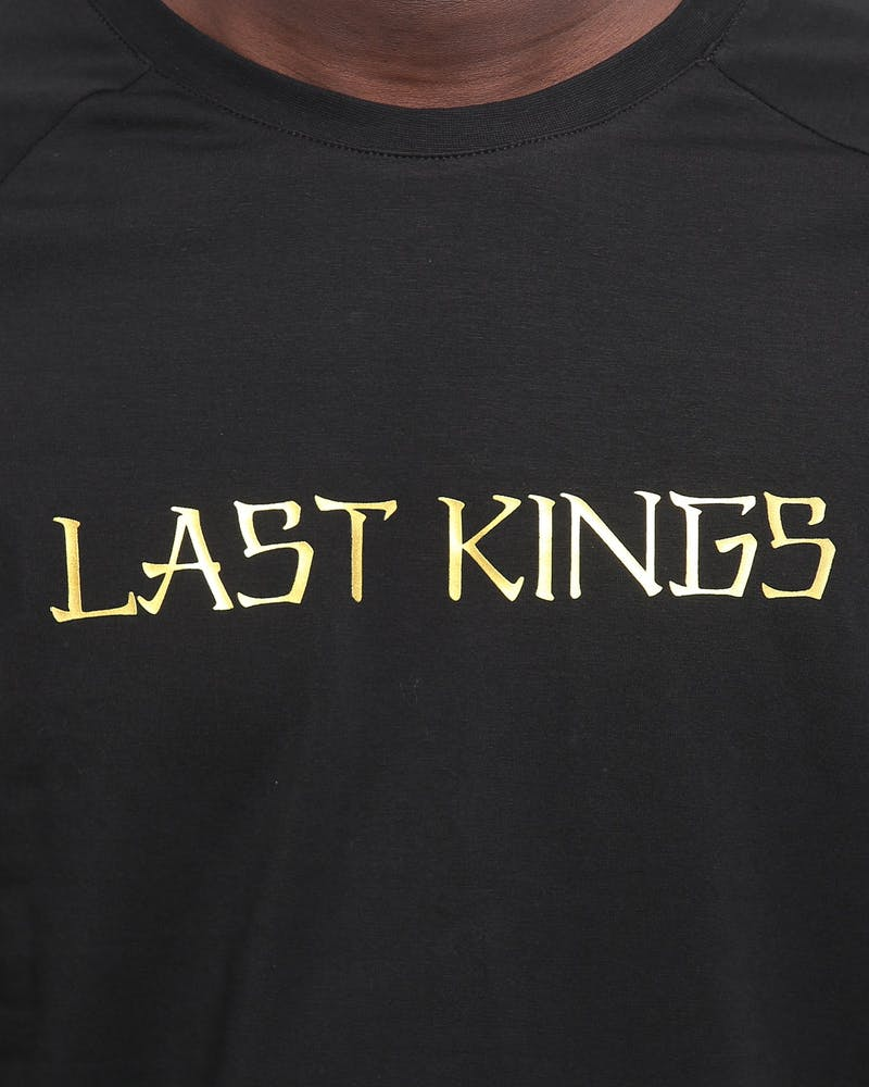 LAST KINGS HIEROGLYPHS SS TEE BLACK/GOLD