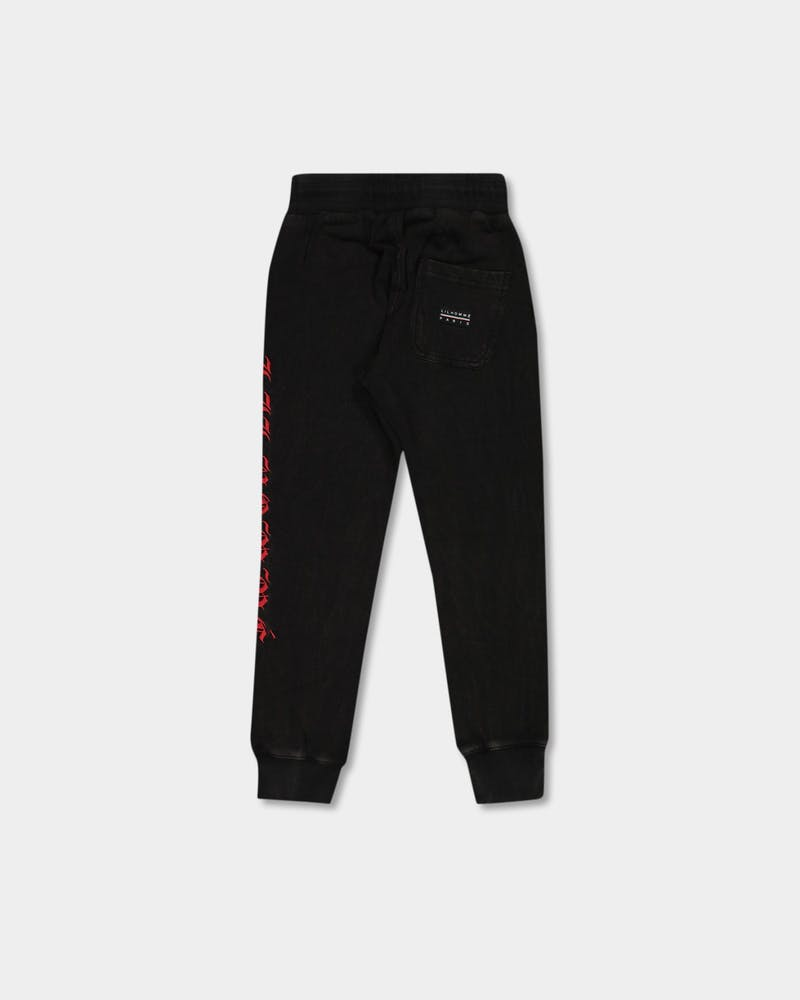 Lil Homme Prime Trackpant Washed Black