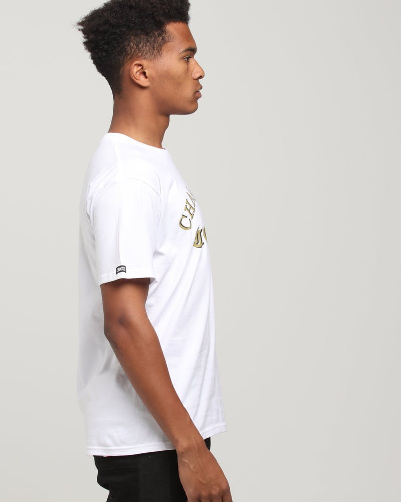 Crooks & Castles Champagne SS Tee White