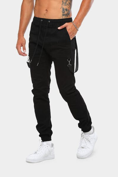 New Slaves Carpenter Jogger Black