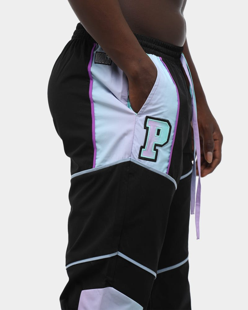 Pink Dolphin Mr. Positive Windbreaker Pant Black