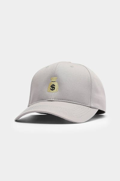 Goat Crew Money Bag Strapback Grey