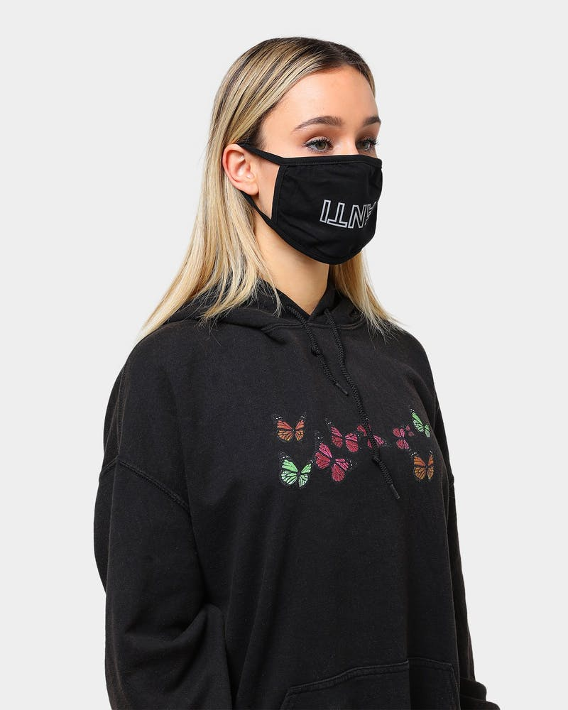 The Anti-Order Anti Face Mask Black/Reflective Ink