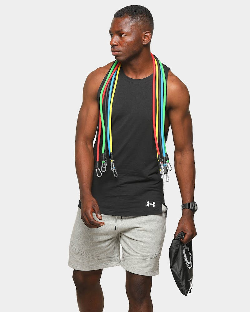 Culture Kings Unisex Resistance Band Set Multi-coloured