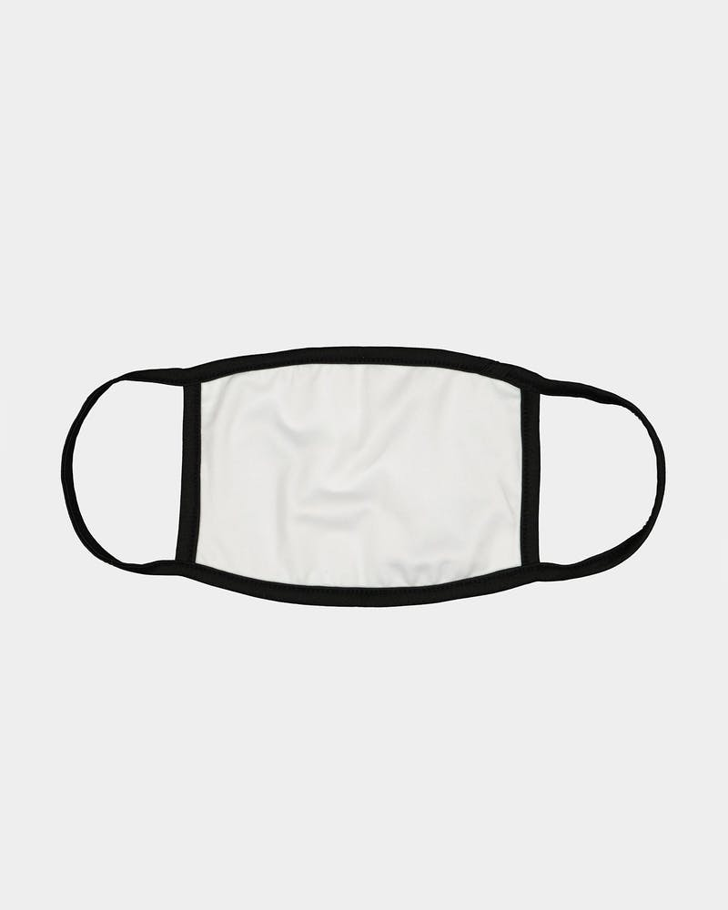 Crooks & Castles Men's Illuminati Fashion Face Mask Black/White