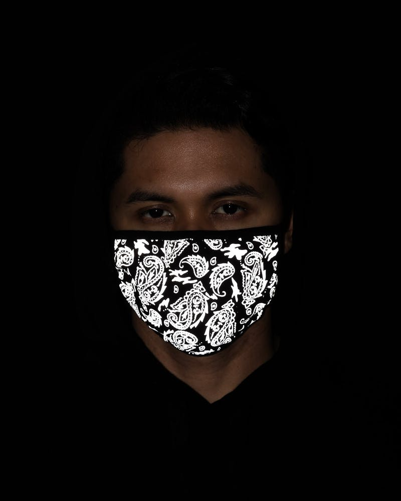 Unisex Culture Kings Not For Sale 3M Paisley Face Mask Black/3M