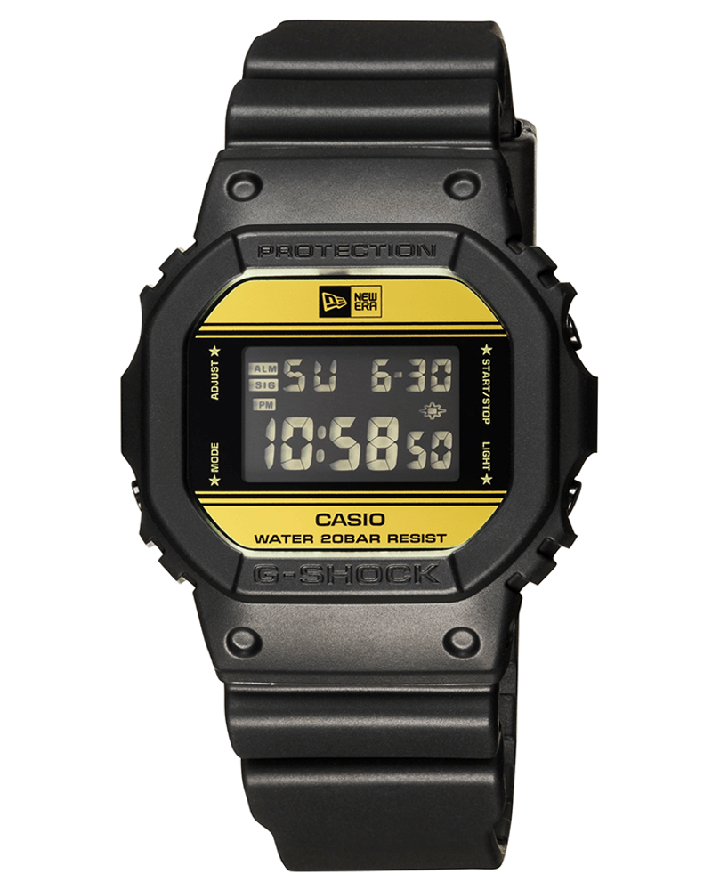 G Shock X New Era Collaboration Black/Gold