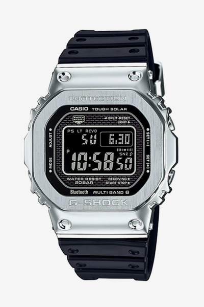 G-Shock Resin Full Metal GMW-B5000-1DR Silver