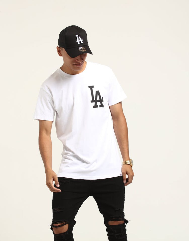 Majestic Athletic Los Angeles Dodgers Remic Tee White