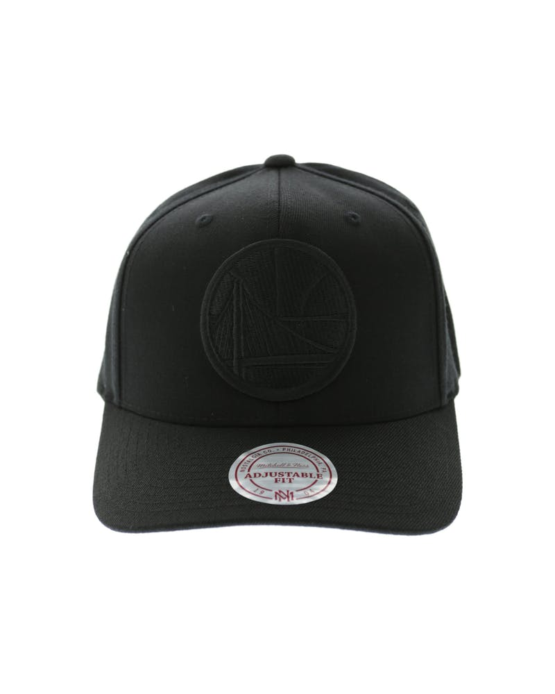 Mitchell & Ness GS Warriors All Black 110 Snapback Black